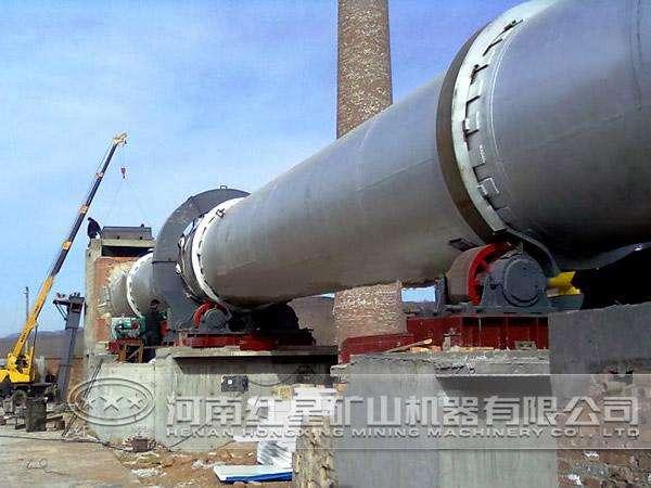 采用优质镇静钢板卷焊制成,筒体通过轮带支承在2~7挡滑动轴承的支承图片
